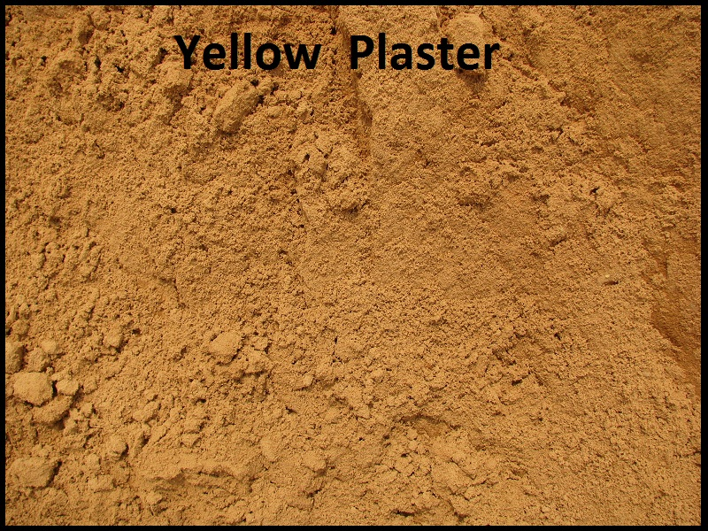 yellow-plastersand